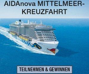 AIDA Kreuzfahrt im Mittelmeer gewinnen