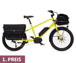E-Bike und Reisegutschein gewinnen