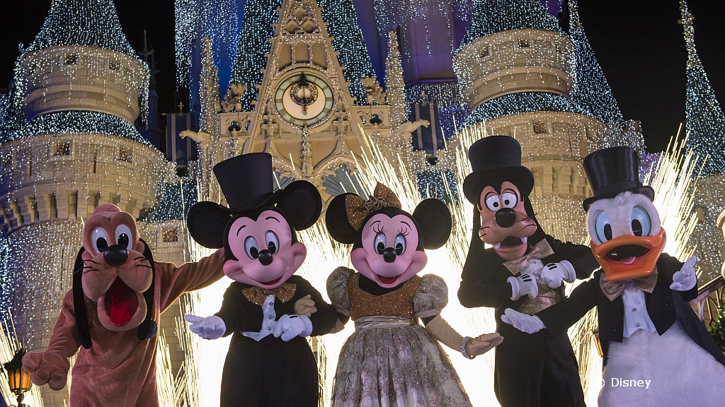 disney character new year themes