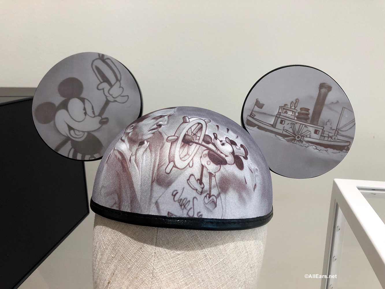 New Quot Full Steam Ahead Quot Ears Celebrating Walt And Steamboat