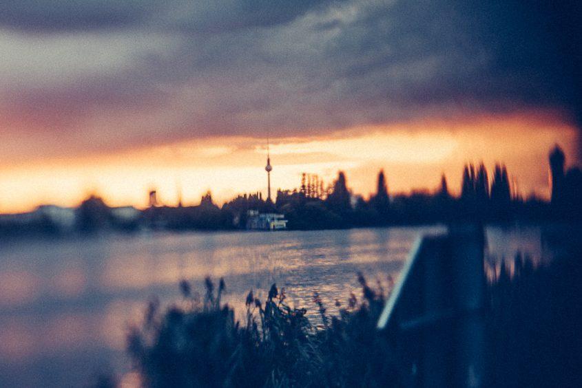 Berlin - Blick vom Rummelsburger Ufer