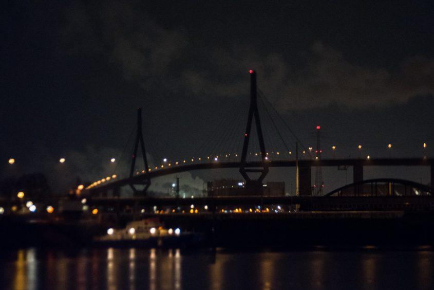 Silvester, Hamburg, Regen, Hafen