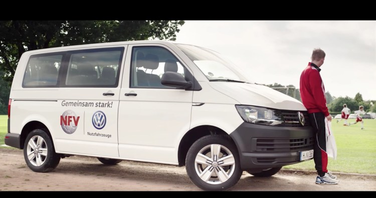 Werbemusik für VW Transporter, produziert vom hamburger Musiker und Komponisten David Alleckna.