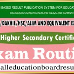 HSC Exam Routine Education Board Bangladesh