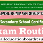 SSC Exam Routine Bangladesh
