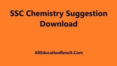 SSC Suggestion 2020 Chemistry