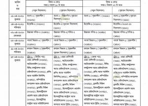 HSC BM Routine 2020 PDF Technical Board