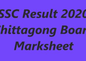 SSC Result 2020 Chittagong Board