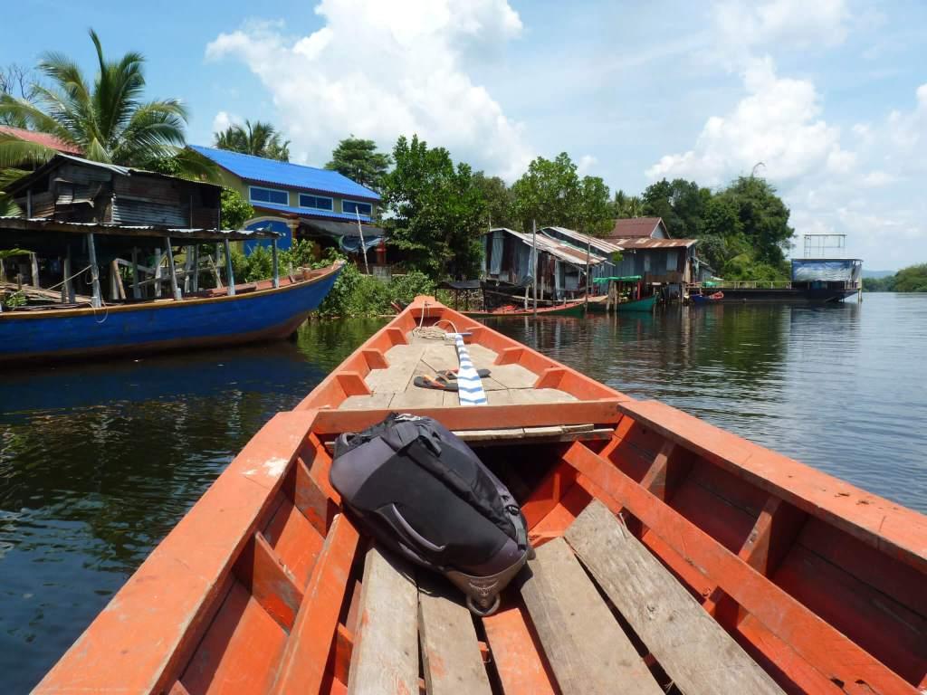 Op weg naar het dorp Chi Phat