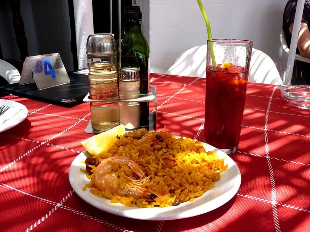 malaga eten