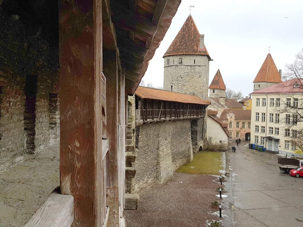 stadsmuur Tallinn tips