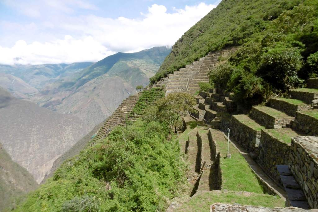 Inca stad Choquequirao