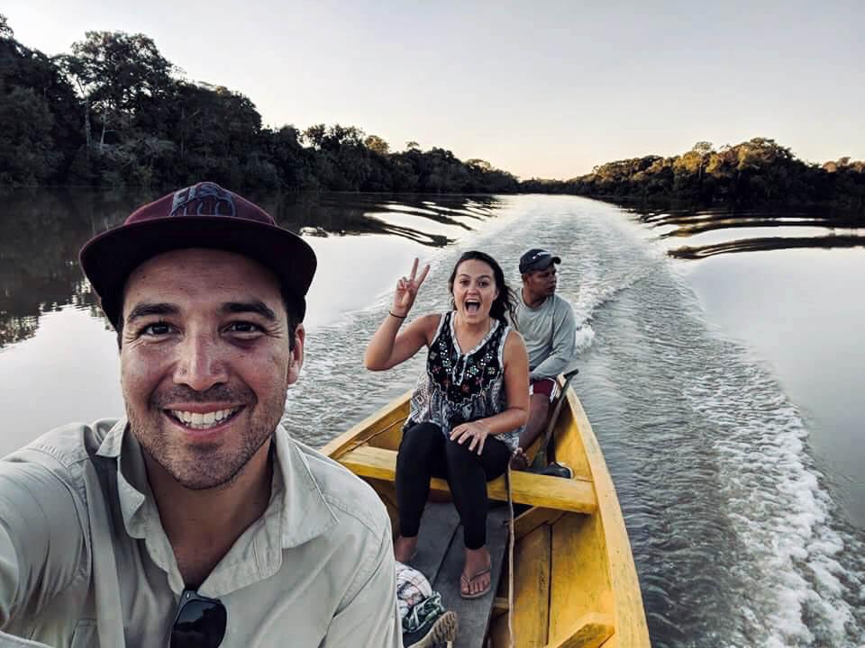 In de Amazone in Peru