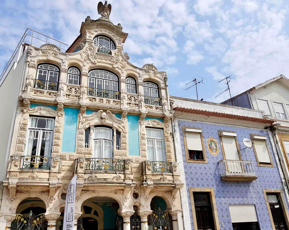 Het museum Nouveau Art in Aveiro