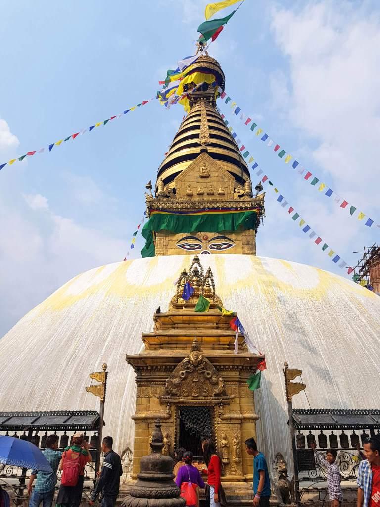 Monkey Temple in Kathmandu
