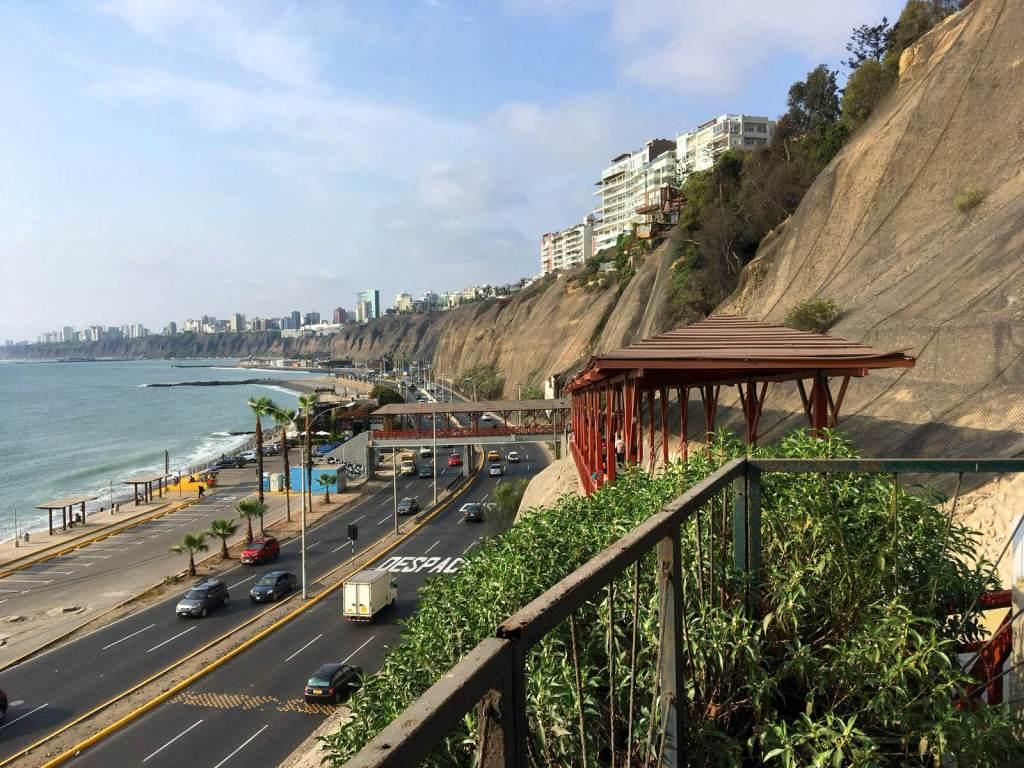 De hoofdstad van Peru: Lima