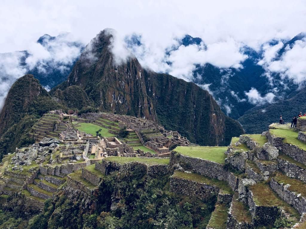 De beroemde Inca Stad Machu Picchu in Peru