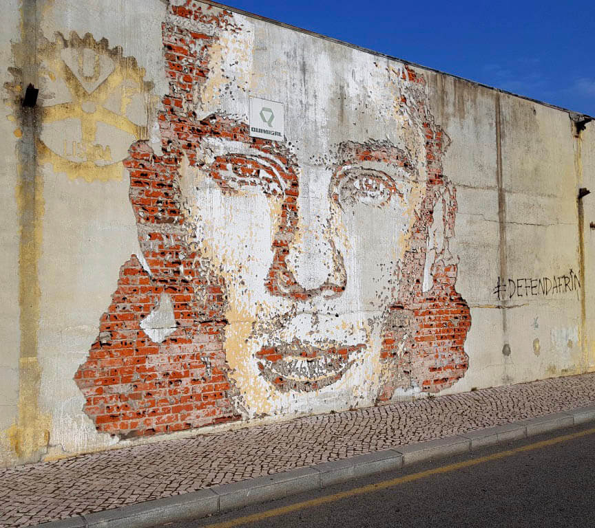 Street art in de Portugese stad Aveiro