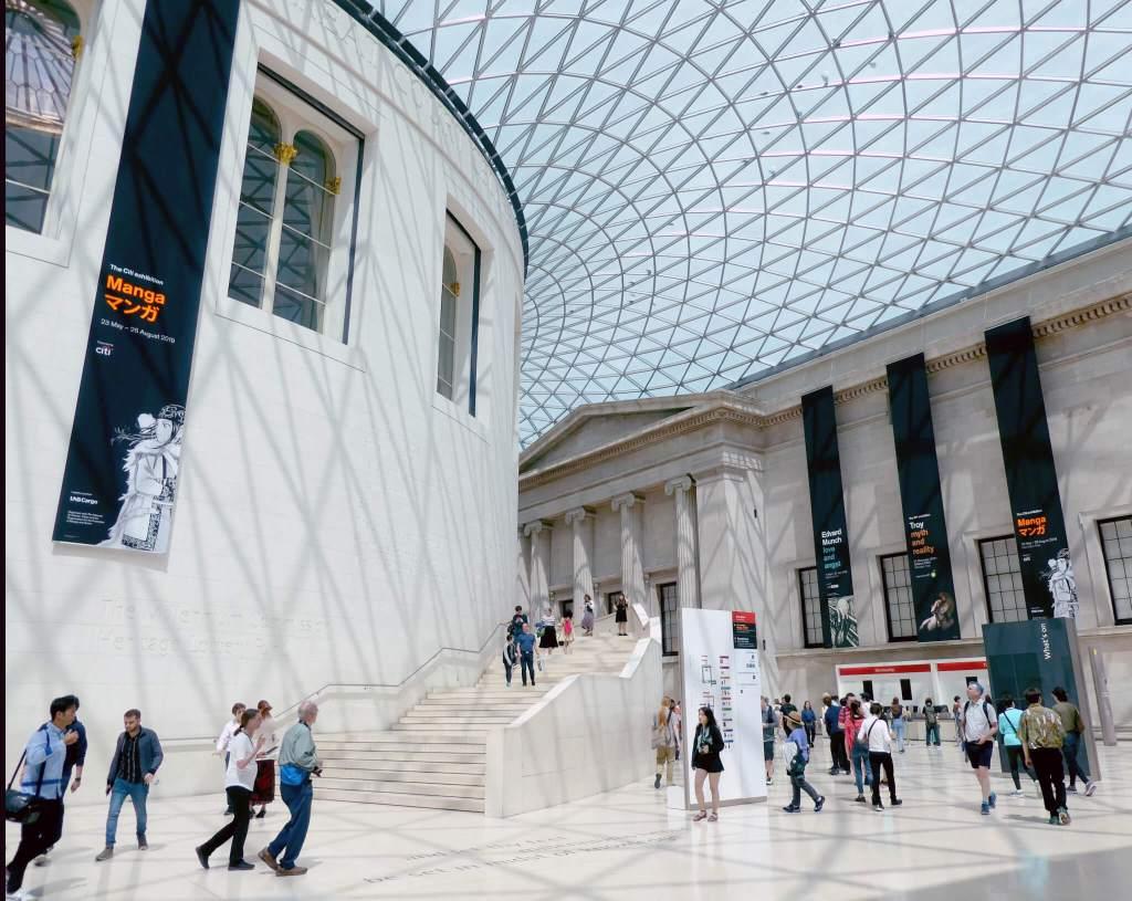 Biritsh Museum in Londen