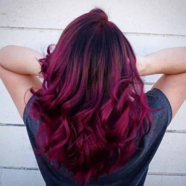 Haarfarbe Empfehlungen Fr Wellige Haare