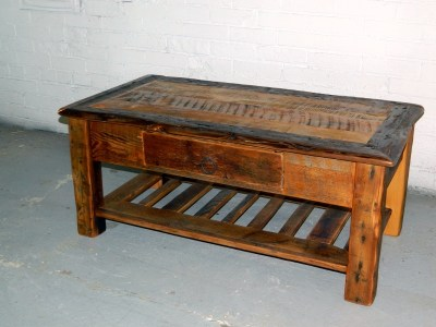 Small Coffee Table with Drawer
