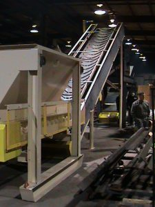 High Angle Belt Feeder and Conveyor