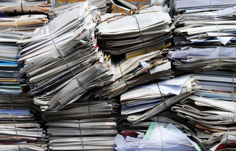 bundled paper