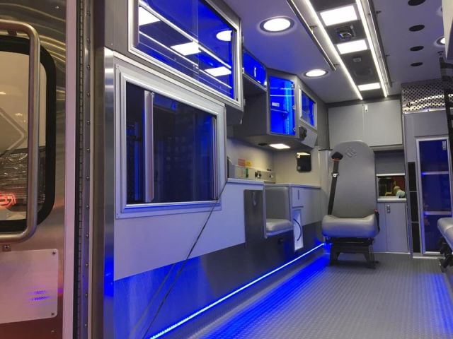 Road Rescue Emergency Vehicle Interior
