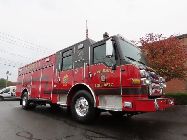 Haverhill Fire Department, MA Job #34499