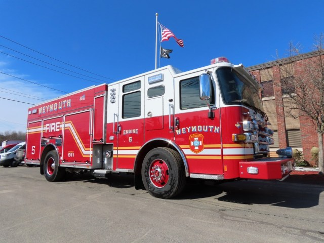 Weymouth Fire Department, MA Job #35085