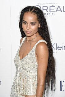 LOS ANGELES, CA - OCTOBER 19: Actress Zoe Kravitz attends the 22nd Annual ELLE Women in Hollywood Awards at Four Seasons Hotel Los Angeles at Beverly Hills on October 19, 2015 in Los Angeles, California. (Photo by Jason Merritt/Getty Images)