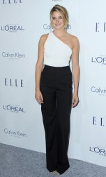 LOS ANGELES, CA - OCTOBER 19: Actress Shailene Woodley arrives at the 22nd Annual ELLE Women In Hollywood Awards at Four Seasons Hotel Los Angeles at Beverly Hills on October 19, 2015 in Los Angeles, California. (Photo by Jon Kopaloff/FilmMagic)