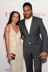 LOS ANGELES, CA - OCTOBER 19: Actress Zoe Kravitz (L) and recording artist Twin Shadow attend the 22nd Annual ELLE Women in Hollywood Awards at Four Seasons Hotel Los Angeles at Beverly Hills on October 19, 2015 in Los Angeles, California. (Photo by Michael Kovac/Getty Images for ELLE)