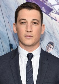 "NEW YORK, NEW YORK - MARCH 14: Actor Miles Teller attends the New York premiere of ""Allegiant"" at the AMC Lincoln Square Theater on March 14, 2016 in New York City. (Photo by Jamie McCarthy/Getty Images)"