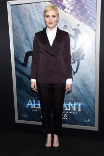 "NEW YORK, NEW YORK - MARCH 14: Author Veronica Roth attends the New York premiere of ""Allegiant"" at the AMC Lincoln Square Theater on March 14, 2016 in New York City. (Photo by Jamie McCarthy/Getty Images)"