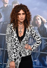 "NEW YORK, NY - MARCH 14: Nadia Hilker attends ""Allegiant"" New York premiere at AMC Loews Lincoln Square 13 theater on March 14, 2016 in New York City. (Photo by Kevin Mazur/WireImage)"