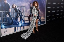 "NEW YORK, NEW YORK - MARCH 14: Nadia Hilker attends the New York premiere of ""Allegiant"" at the AMC Lincoln Square Theater on March 14, 2016 in New York City. (Photo by Nicholas Hunt/Getty Images)"