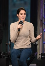 """NEW YORK, NY - MARCH 14: Shailene Woodley speaks at the AOL Build Speaker Series """"Allegiant"""" at AOL Studios In New York on March 14, 2016 in New York City. (Photo by Dave Kotinsky/Getty Images)"""