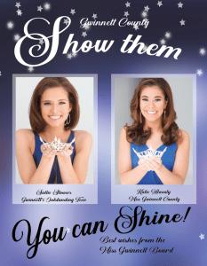 Pageant Program Book Ad Design