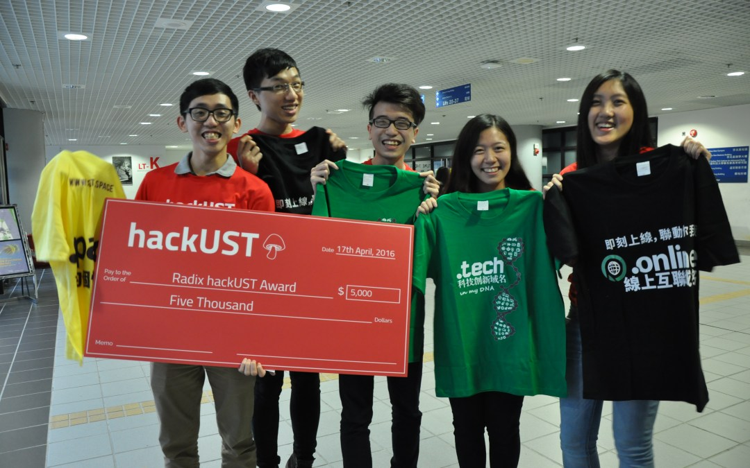 Radix Presents Award to Hong Kong Entrepreneurs at University Hackathon