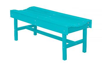 resin patio benches