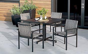 aluminum patio dining tables