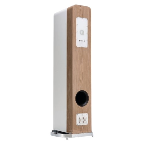 Q Acoustics Concept 500 WHT/OAK - rear