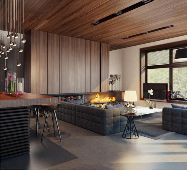 43 Pr 228 Chtige Moderne Wohnzimmer Designs Von Alexandra Fedorova