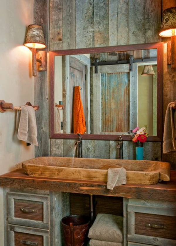 Farmhouse Chic Bathroom