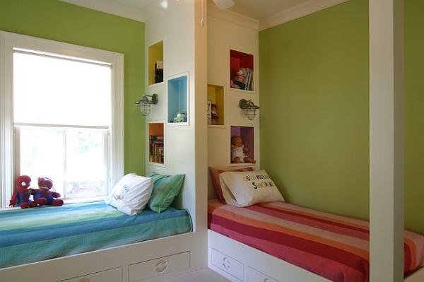 wandgestaltung kinderzimmer ideen nxsone45. Black Bedroom Furniture Sets. Home Design Ideas