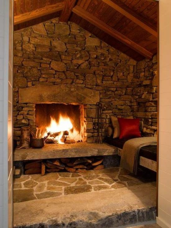 Wohnzimmer Mit Kamin Gestalten Sind Sie Pro Oder Contra