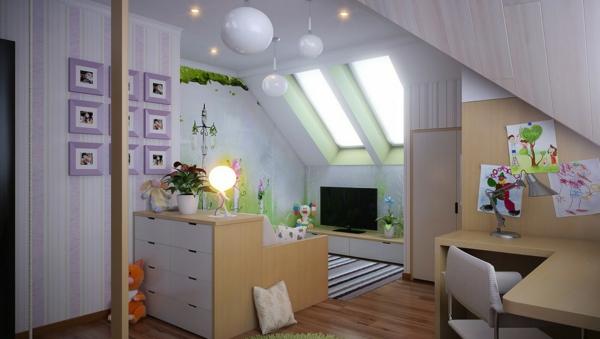 Kinderzimmer ideen dachschräge  GESTALTUNGSIDEEN KINDERZIMMER – nxsone45