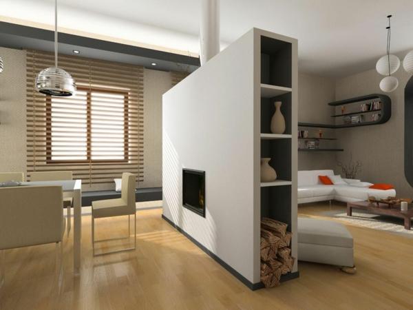 Raumteiler Zwischen Kuche Und Wohnzimmer. Cool Design Ideen Fur Das