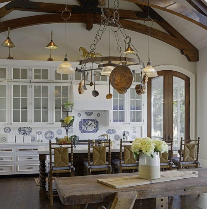 Antique Farmhouse Dining